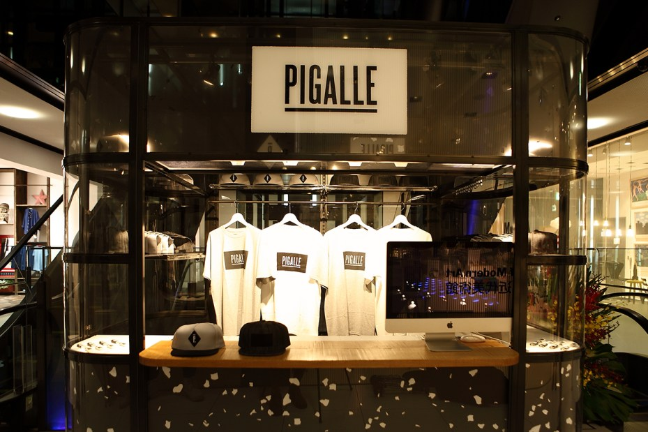 Image of PIGALLE Pop-Up Store at GYRE Omotesando Tokyo Opening