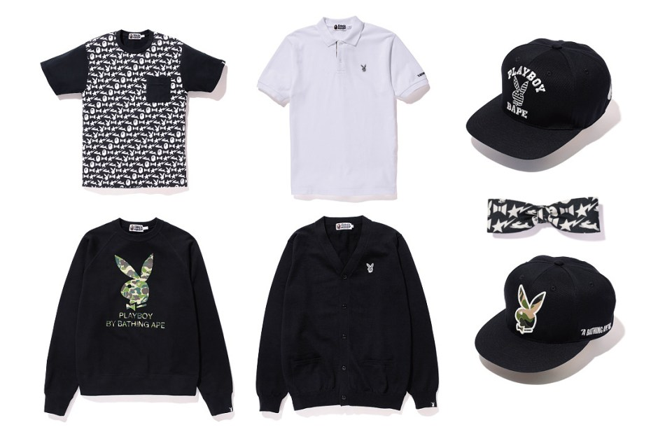 Image of Playboy x A Bathing Ape 2013 Summer Collection