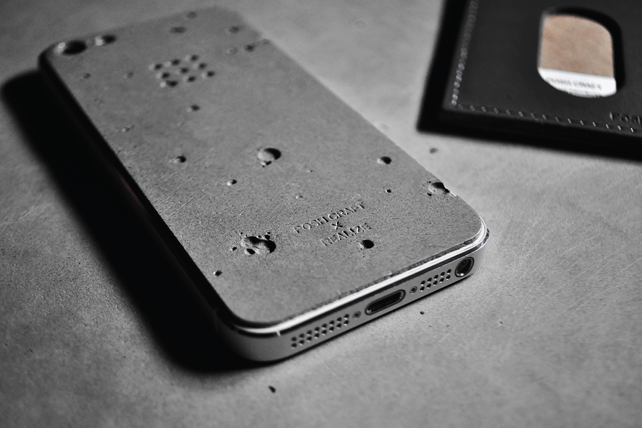 "Image of Posh Craft x Realize ""Luna"" Concrete Skin for iPhone 5"