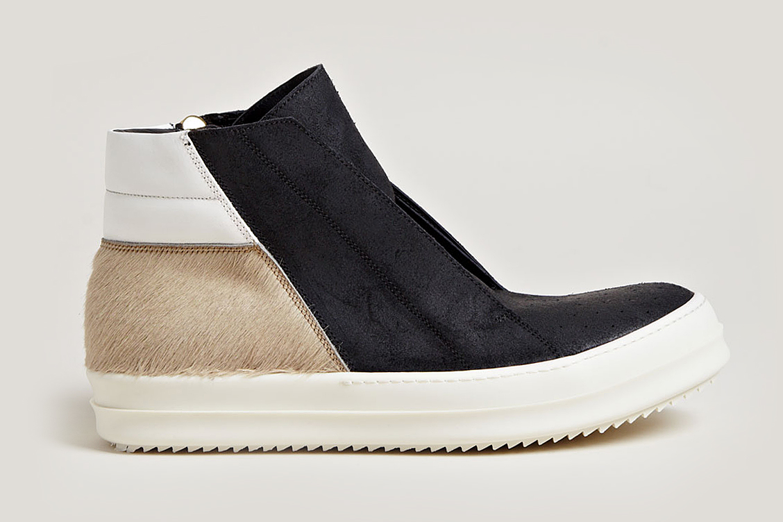 "Image of Rick Owens ""Pony Hair"" Footwear Collection"
