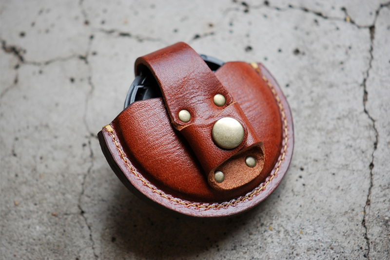 Image of Roberu Leather Lens Cap Case