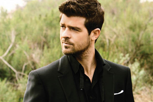Image of Robin Thicke featuring Kendrick Lamar - Give It 2 U