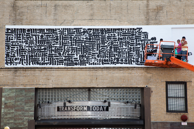 Image of Rostarr for Absolut Open Canvas in Brooklyn