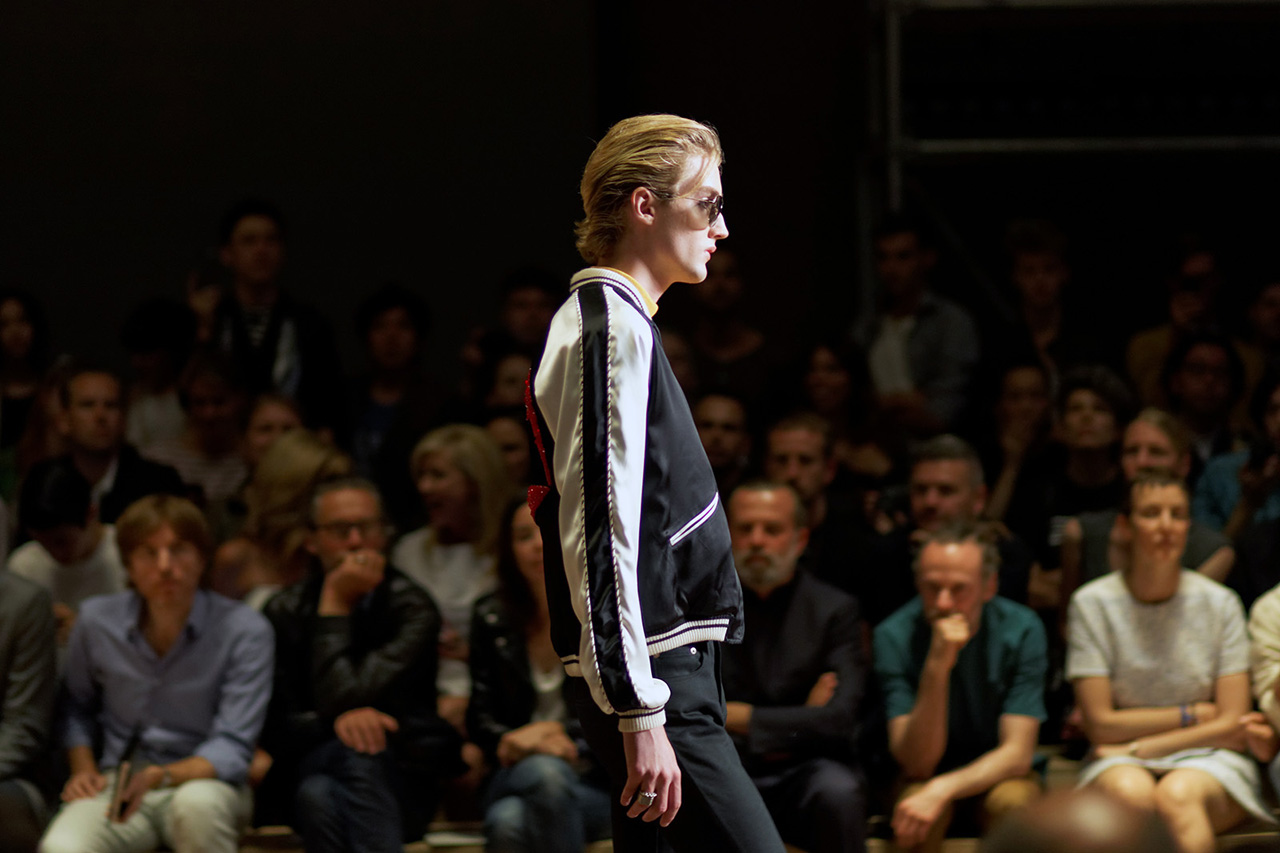 Image of A Candid Look at Saint Laurent's 2014 Spring/Summer Show