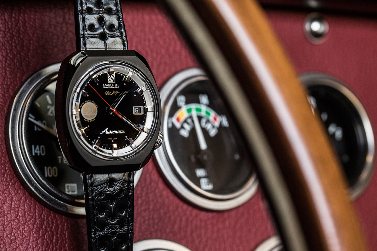 Image of Shelby x MARCH LA.B AM3 50th Anniversary Shelby Cobra Watch