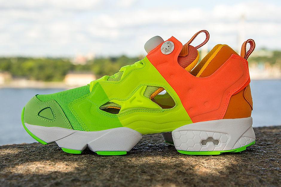 """Image of Sneakersnstuff x Reebok Pump Fury """"Popsicle"""""""