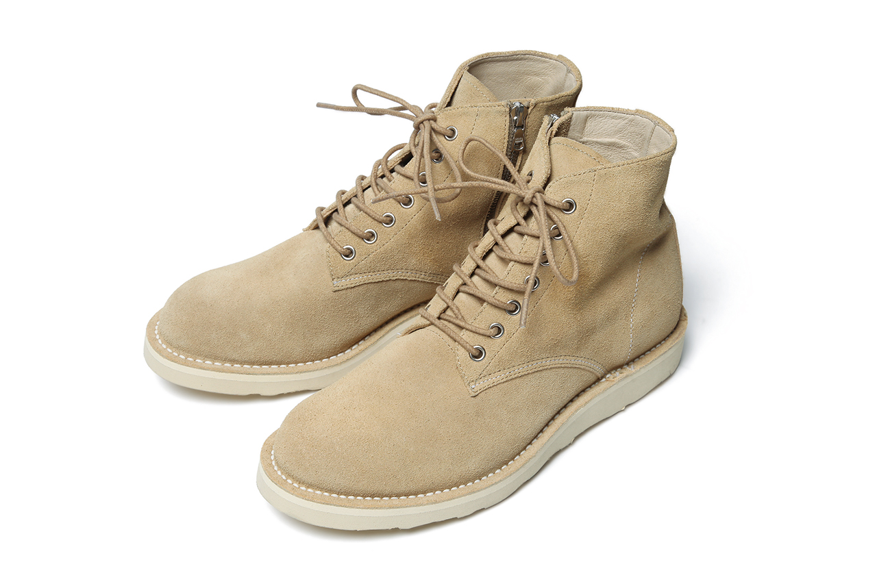 Image of SOPHNET. 2013 Fall/Winter 7-Hole Zip Up Work Boots