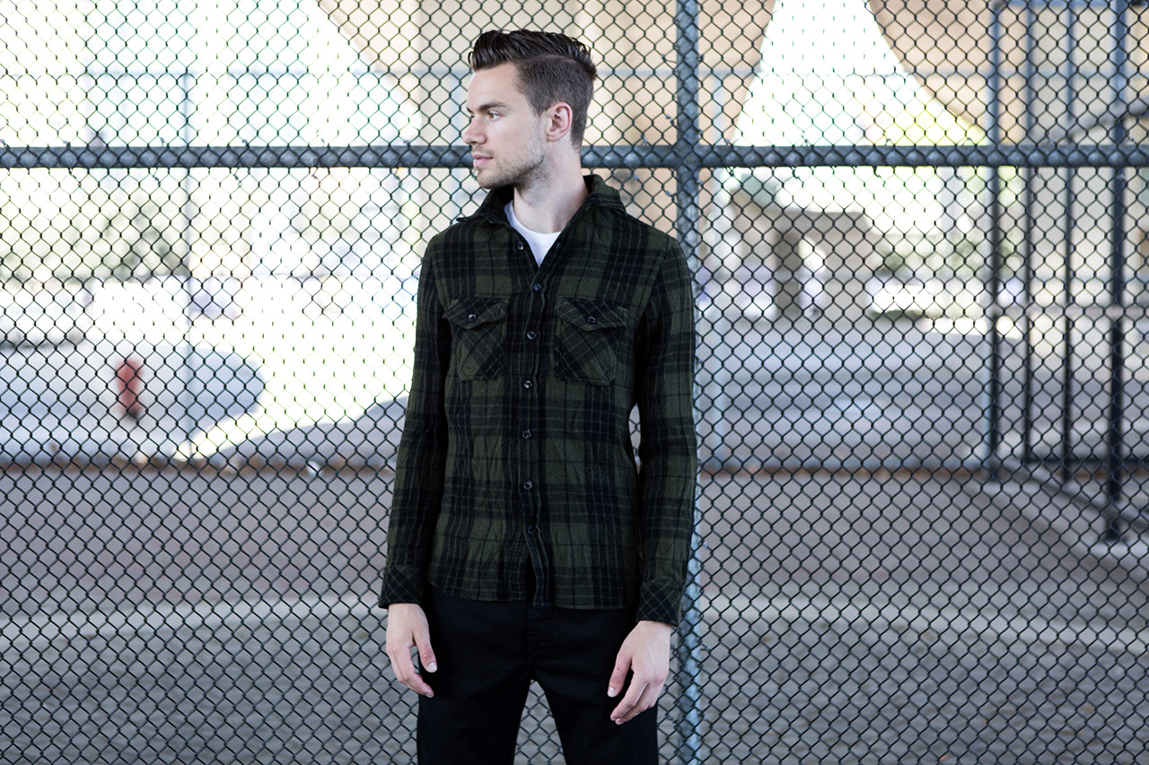 Image of wings + horns for Steven Alan 2013 Fall Capsule Collection
