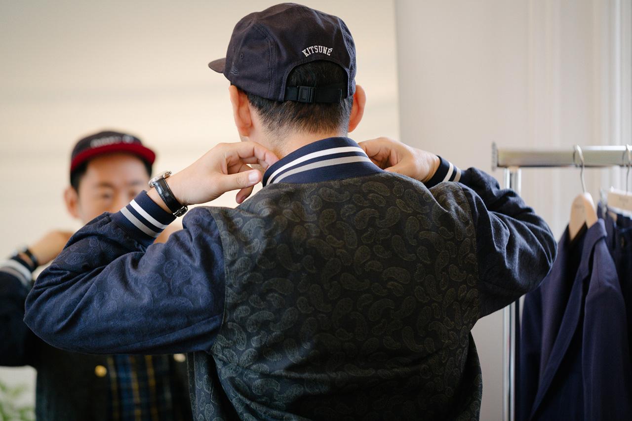 Image of Streetsnaps: Masaya Kuroki of Kitsuné