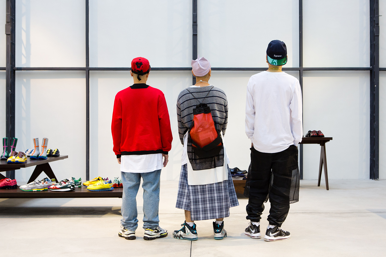 Image of Streetsnaps: Showroom Attendees