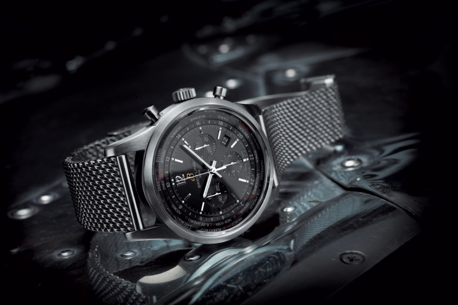 Image of Breitling Transocean Unitime Pilot Chronograph