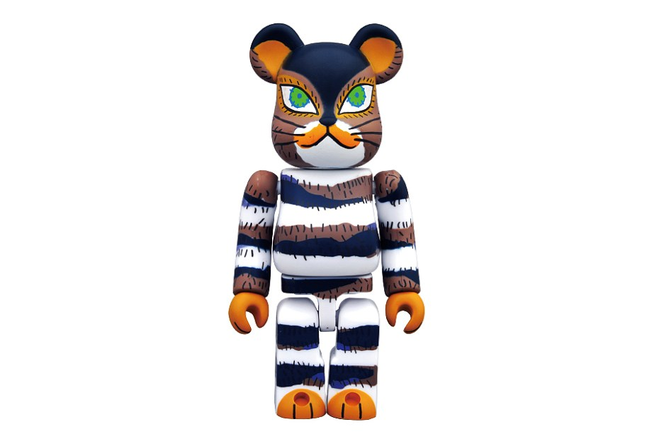 Image of The Cat That Lived a Million Times x Medicom Toy 100% Bearbrick