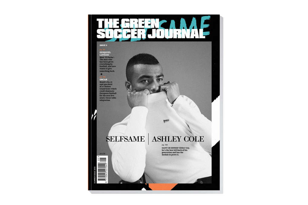 Image of The Green Soccer Journal Issue 5 featuring Ashley Cole