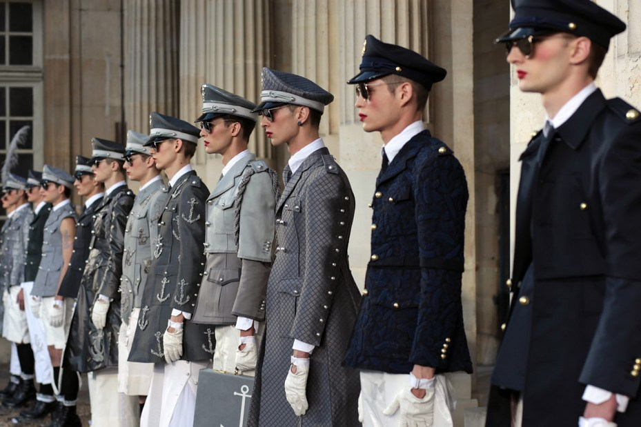 Image of Sights from Thom Browne's 2014 Spring/Summer Show