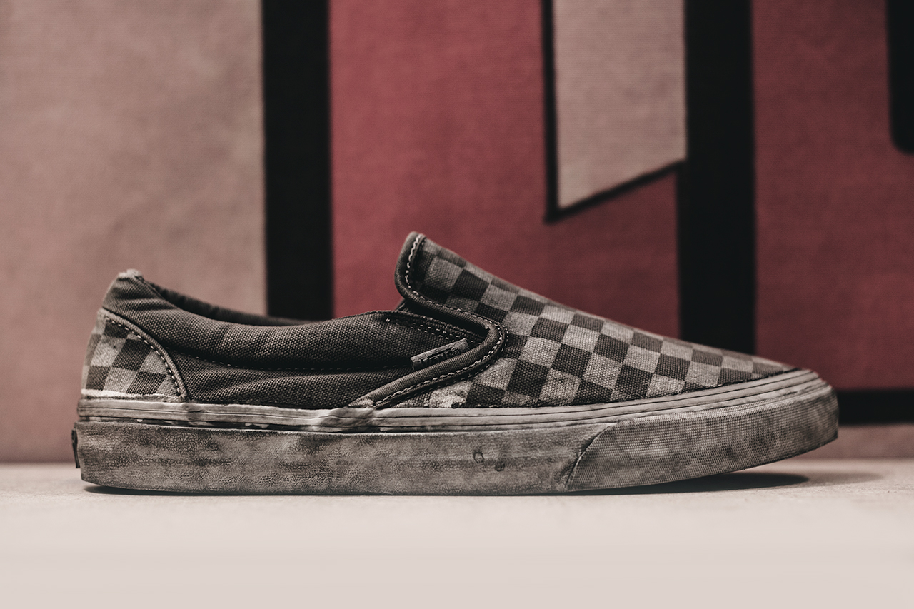 "Image of Agenda LBC: Vans California 2014 Spring/Summer ""Overwashed"" Slip-On"