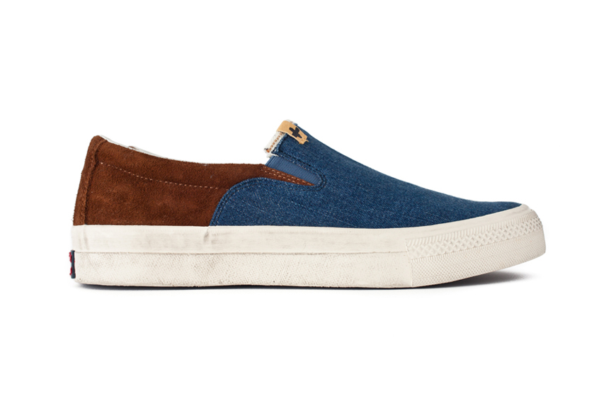 Image of visvim 2013 Summer SKAGWAY SLIP-ON DENIM