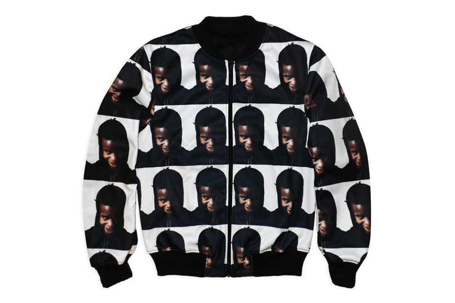 "Image of Wil Fry ""Portrait of Ian Connor"" Varsity Jacket"