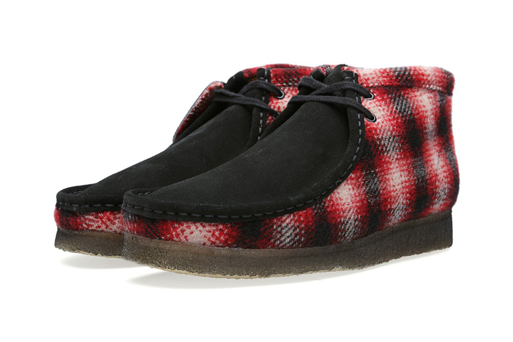 Image of Woolrich Woolen Mills x Clarks Originals Wallabee Boot