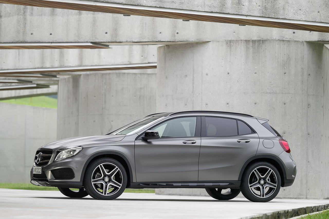 2014 mercedes benz gla class hypebeast. Black Bedroom Furniture Sets. Home Design Ideas