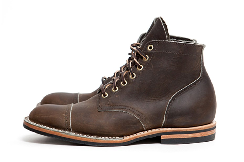 Image of 3sixteen x Viberg 10th Anniversary Service Boot