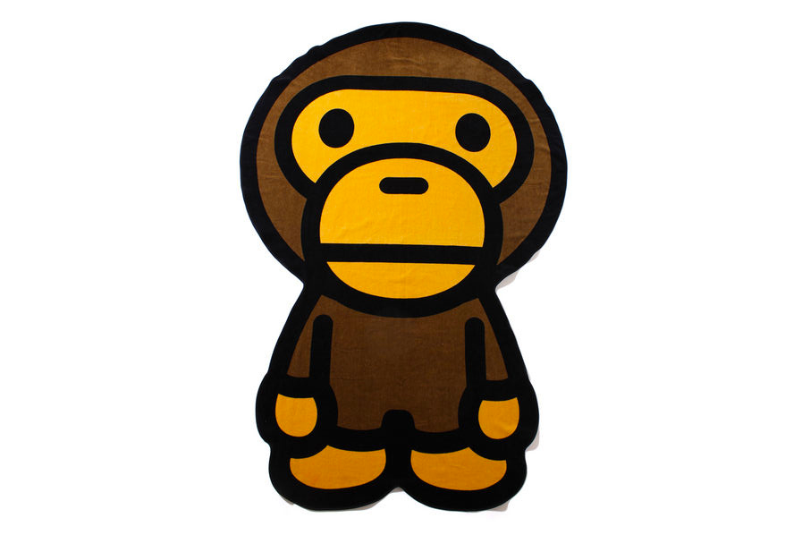 Image of A Bathing Ape MILO BIG BATH TOWEL