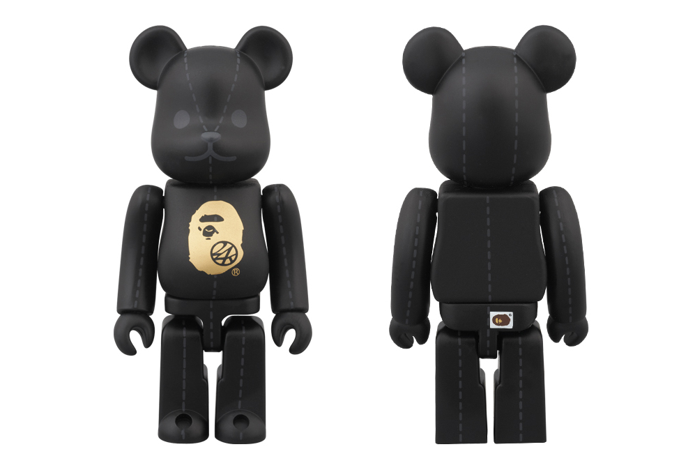 Image of A Bathing Ape x 24karats x Medicom Toy 100% Bearbrick