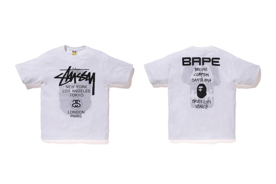 "Image of A Bathing Ape x Stussy 2013 Fall/Winter ""Ill Collaboration"" Collection"