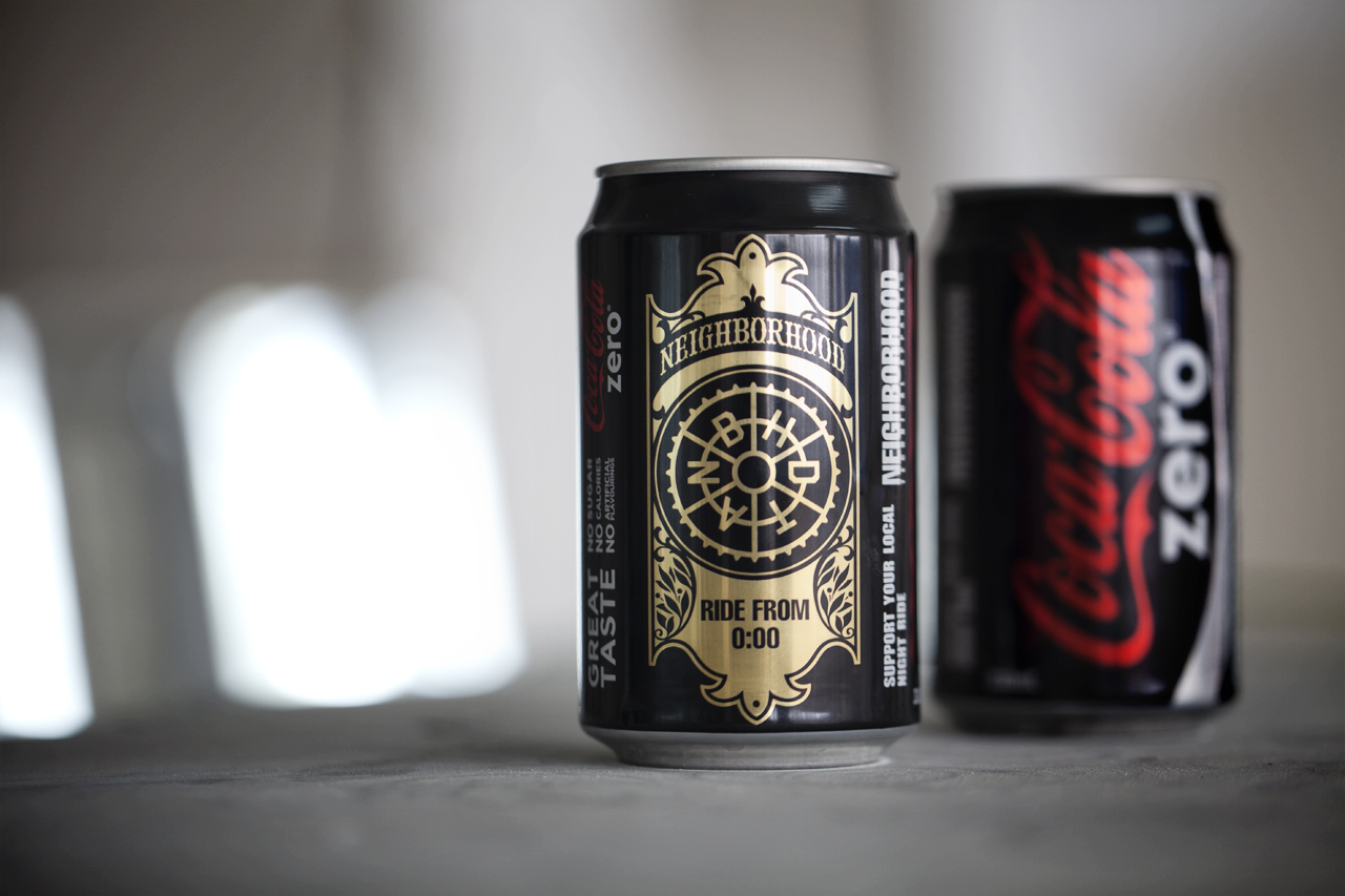 Image of A Closer Look at the NEIGHBORHOOD x Coca-Cola Zero Cans