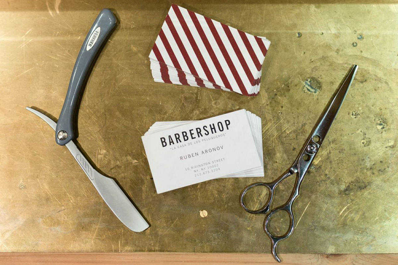 "Image of A Look Inside Freemans Sporting Club's New ""Barbershop"""