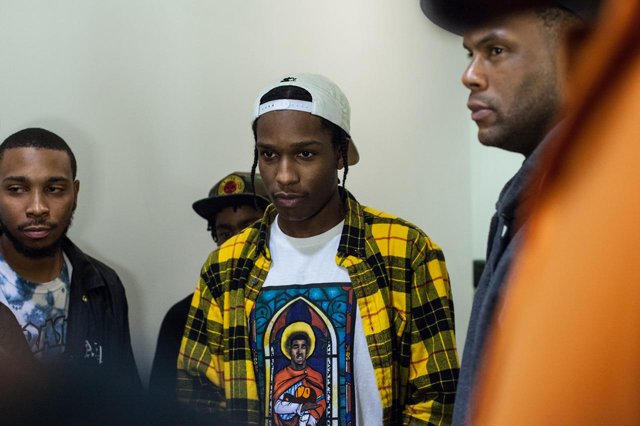 """Image of A$AP Ferg x A Bathing Ape """"TrapLord"""" T-Shirt Launch Recap"""