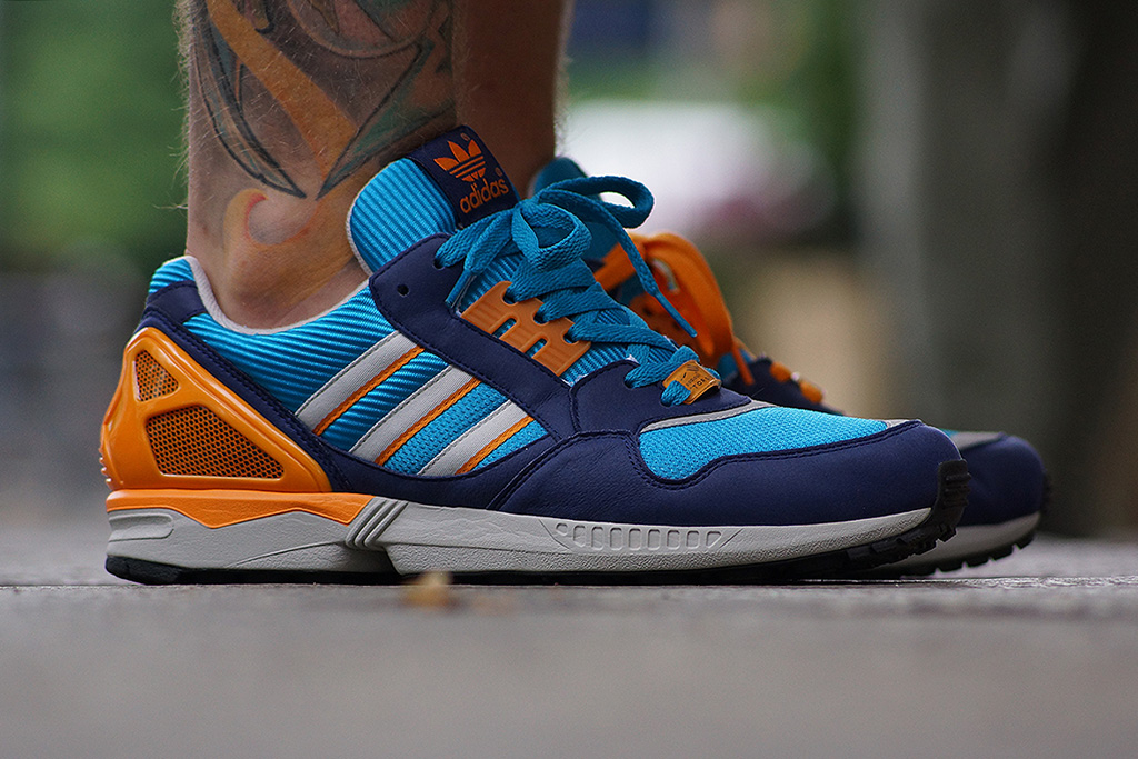 Image of adidas Originals 2013 Fall/Winter ZX 9000 Turquoise/Metallic Silver/Orange