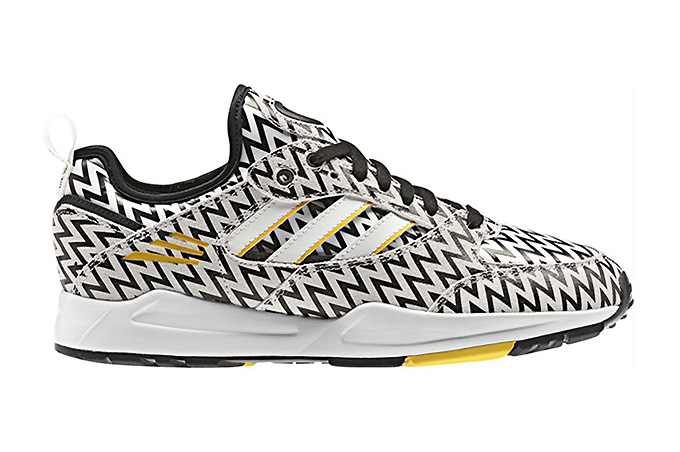 "Image of adidas Originals 2013 Fall Tech Super ""Black/White/Yellow Ray"""