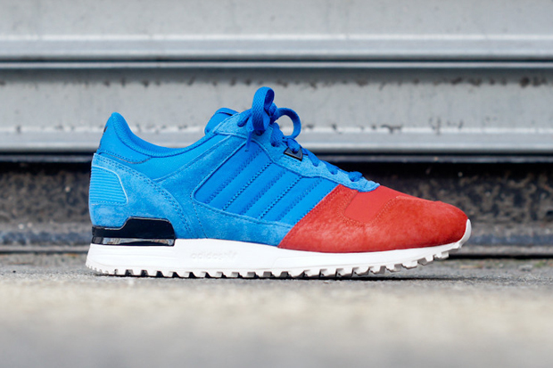 Image of adidas ZX700 Blue/Red