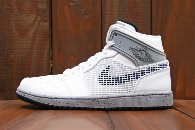 Image of Air Jordan 1 Retro '89 White/Cement Grey-Black Preview