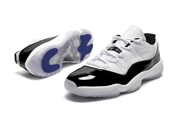 "Image of Air Jordan 11 Retro Low ""Concord"" Preview"