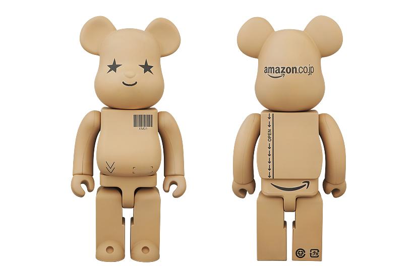 Image of Amazon.co.jp x Medicom Toy 100% & 400% Bearbricks