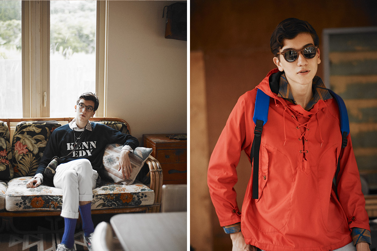 "Image of And A 2013 Fall/Winter ""Town and Country"" Lookbook"