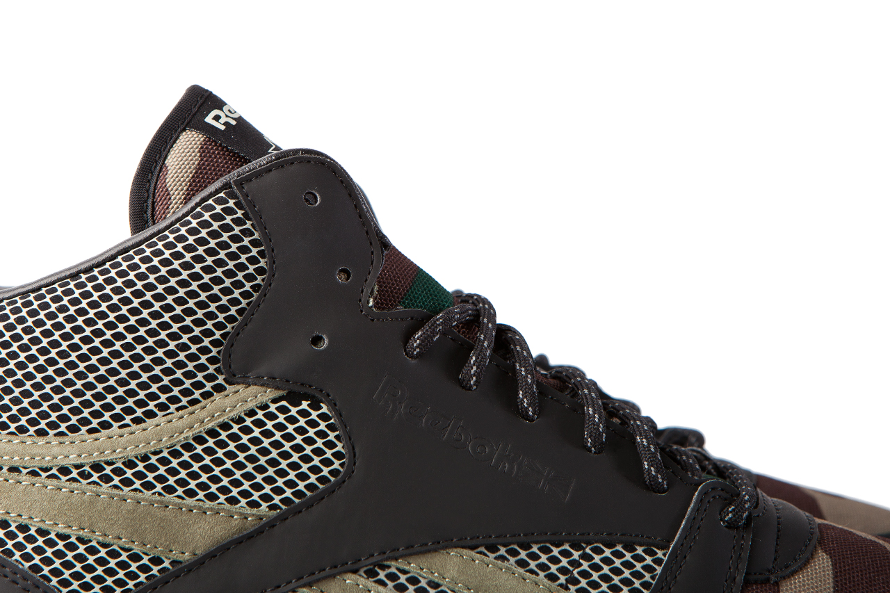 Image of atmos x Reebok Classic Leather Mid 30th Anniversary