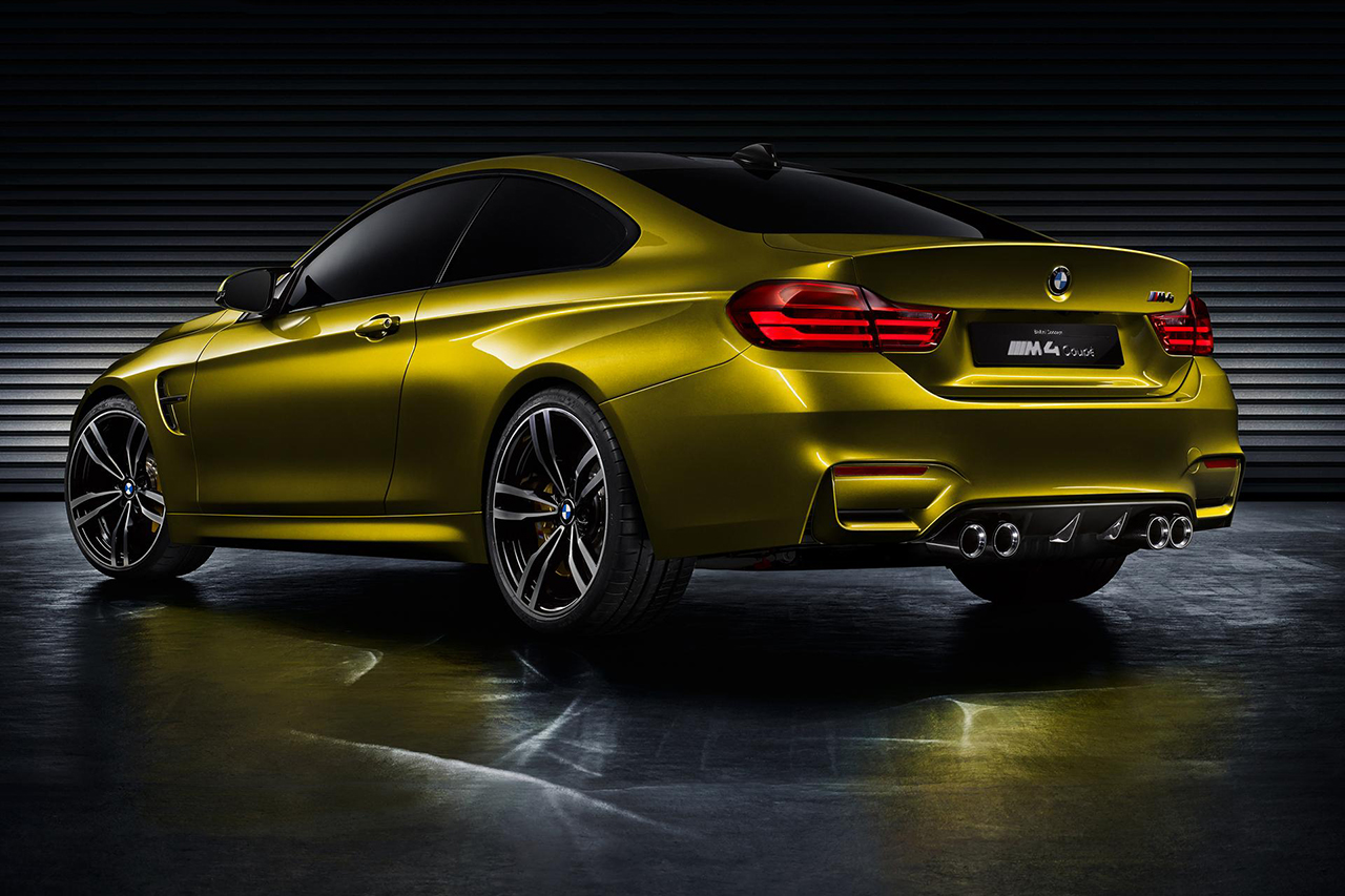 Image of BMW Unveils the M4 Concept