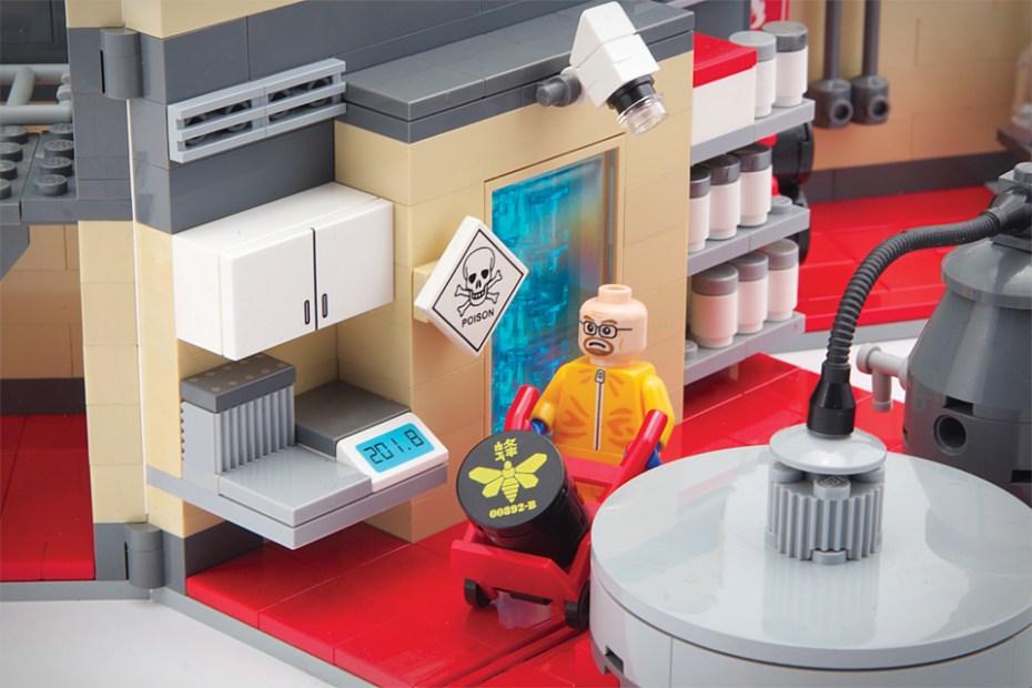 Image of Breaking Bad LEGO Superlab Playset