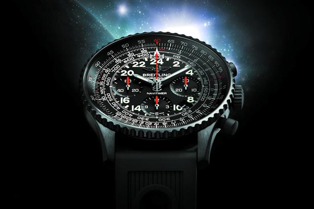 Image of Breitling Navitimer Cosmonaute Blacksteel