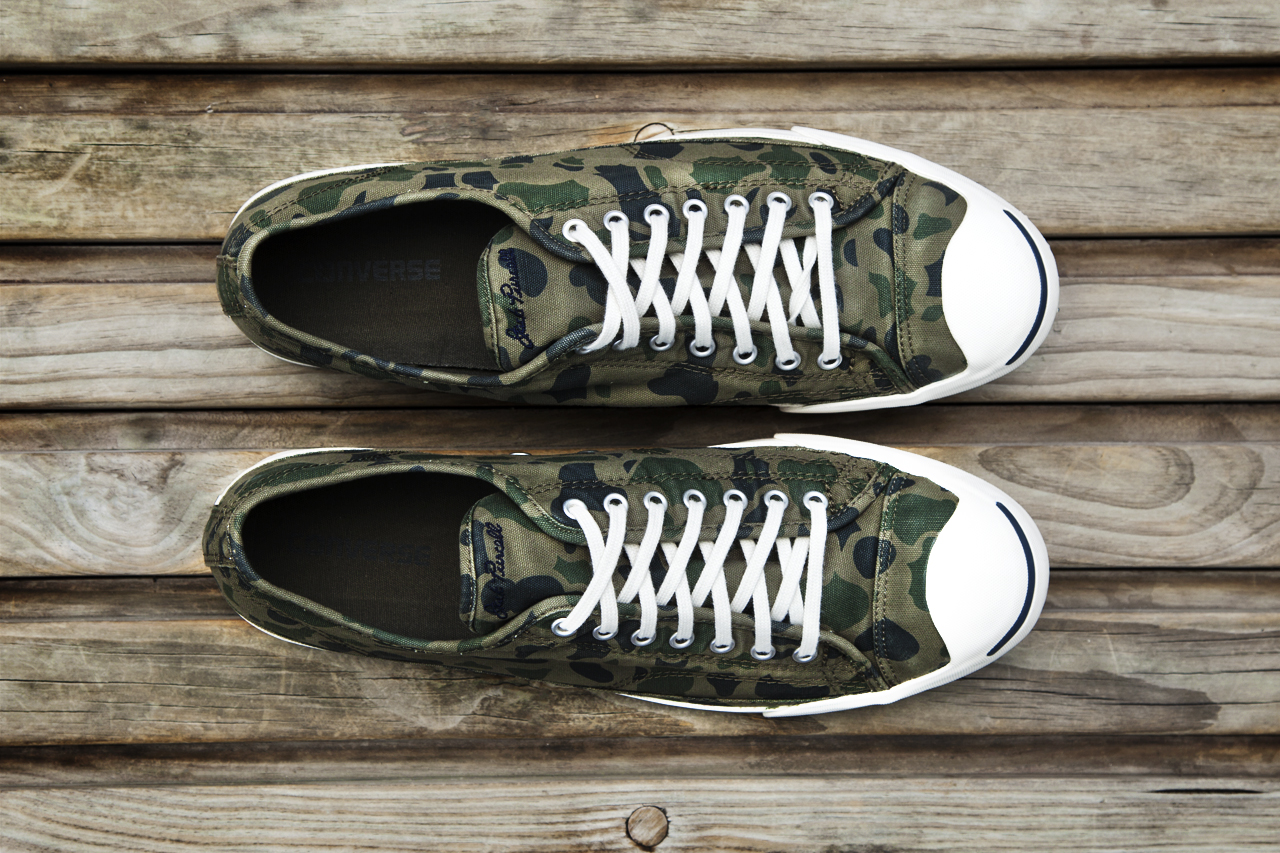 "Image of Converse 2013 Fall/Winter Jack Purcell ""Grape Camo"""