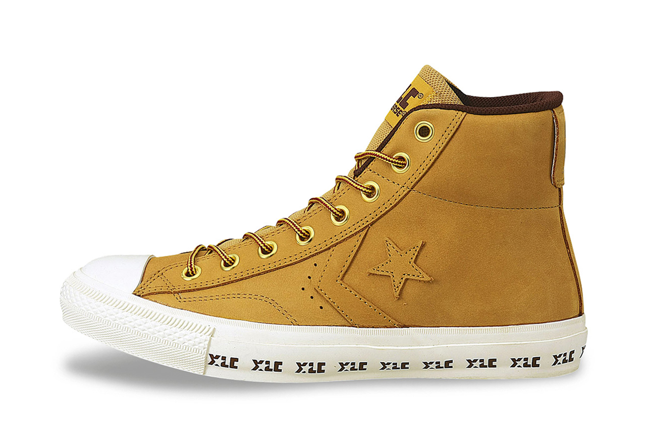 Image of XLARGE x Converse Japan 2013 Fall XL ChevronStar Nubuck Hi