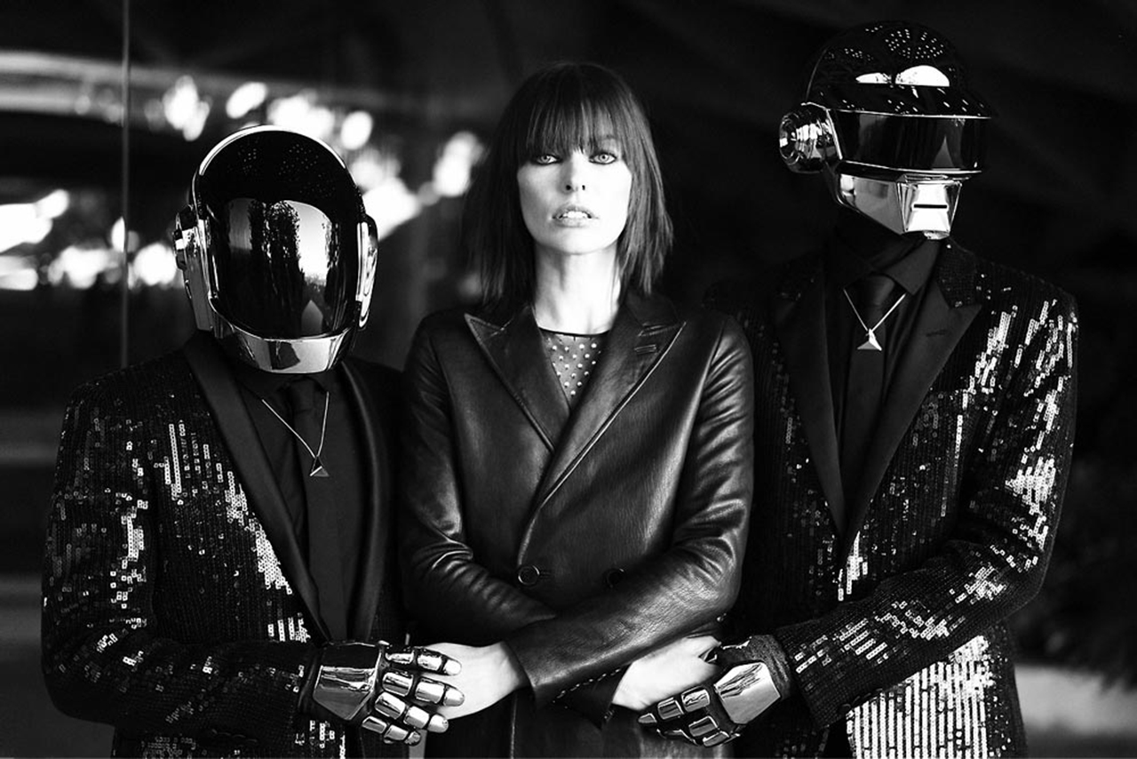 "Image of Daft Punk for CR Fashion Book ""DIGITAL LOVE"" Editorial"