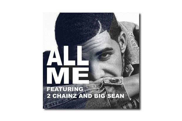 Image of Drake featuring 2 Chainz & Big Sean – All Me (Produced by KeY Wane)