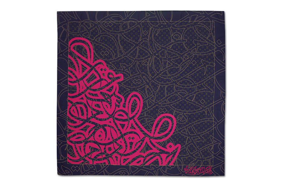 Image of eL Seed for Louis Vuitton Foulards D'Artistes Series