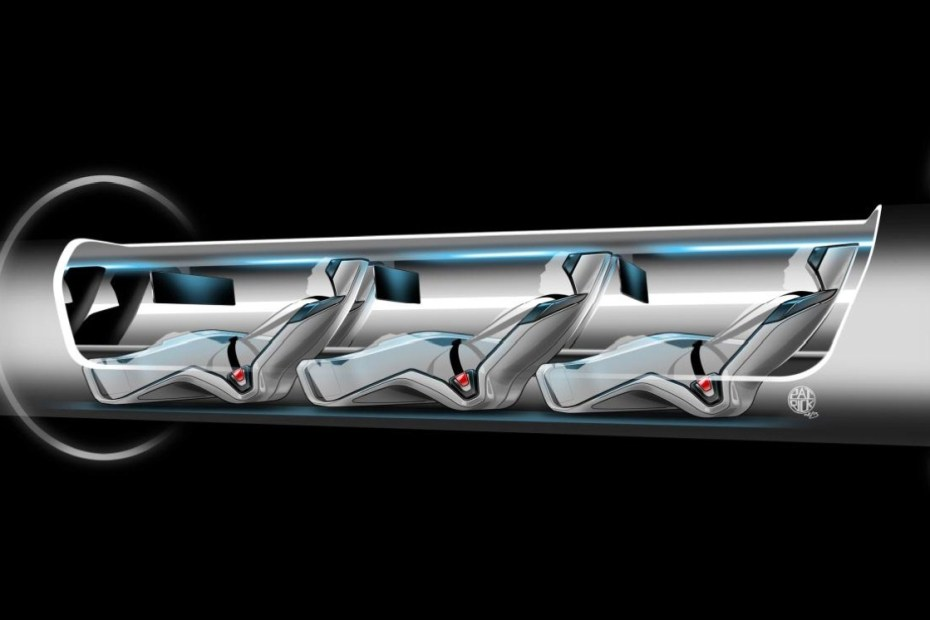 Image of LA to SF in 30 Minutes with Elon Musk's High-Speed Solar-Powered Hyperloop