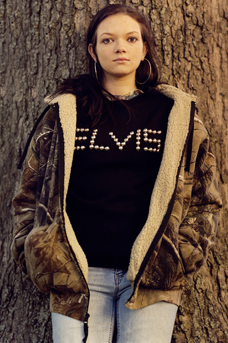 Image of Elvis x Opening Ceremony 2013 Fall/Winter Editorial by Jamie Hawkesworth