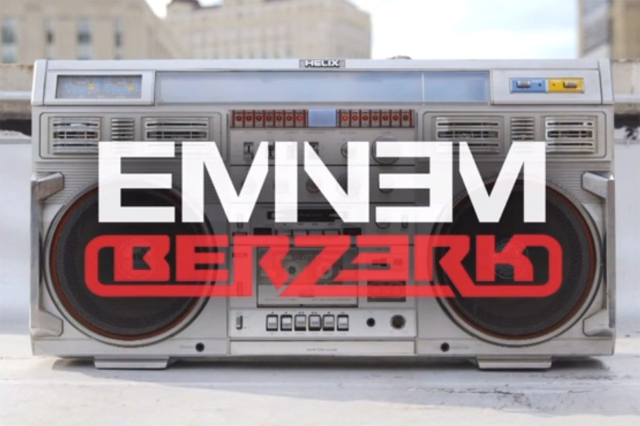 Image of Eminem - Berzerk (Produced by Rick Rubin)