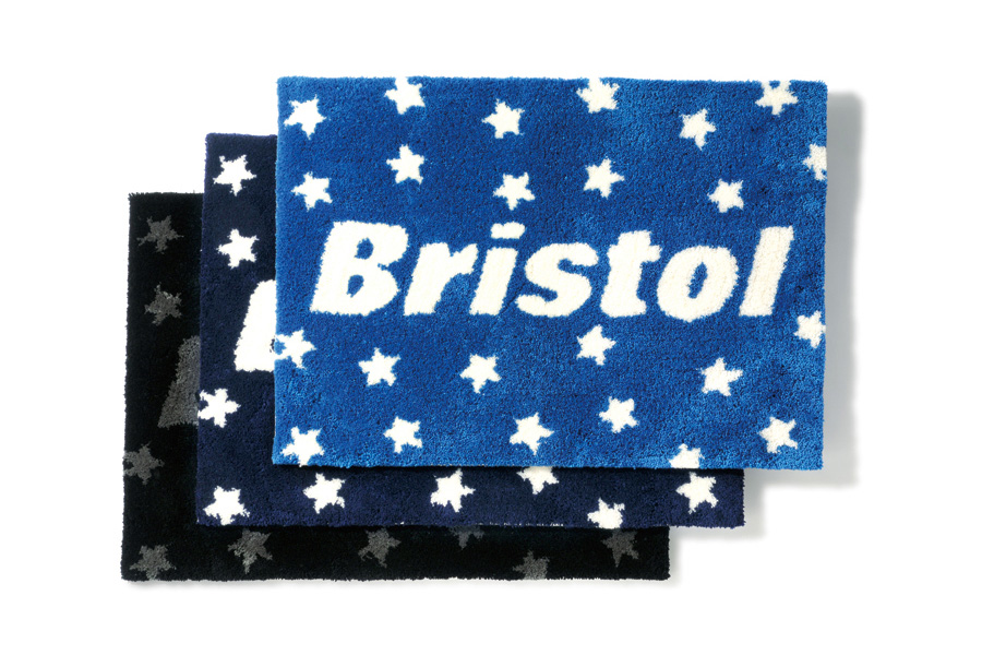Image of F.C.R.B. 2013 Fall/Winter BRISTOL STAR & EMBLEM RUG MAT